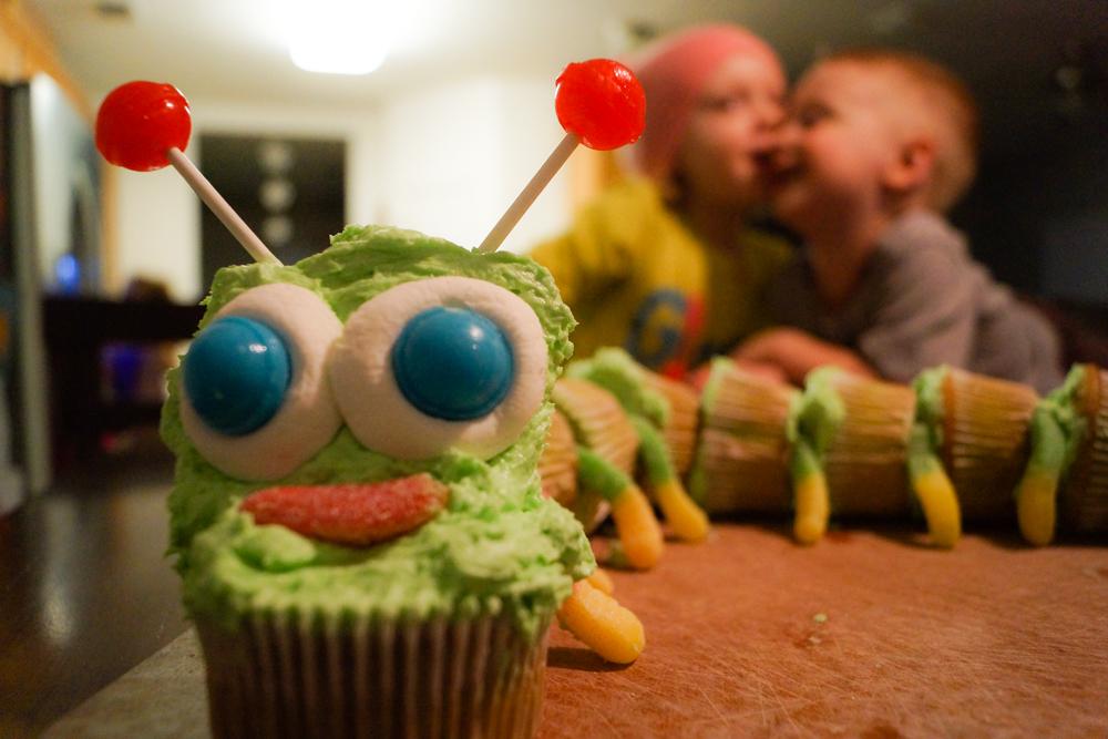Cupcake Caterpillar!